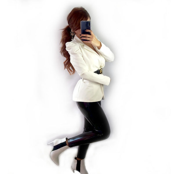 blazer blanca light