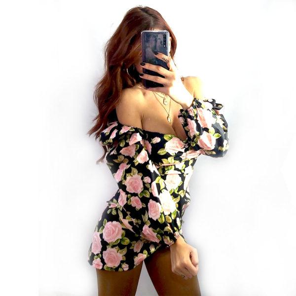 vestido flores blossom