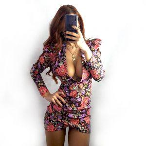 vestido lila bramble