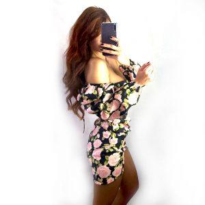 vestido rosas blossom