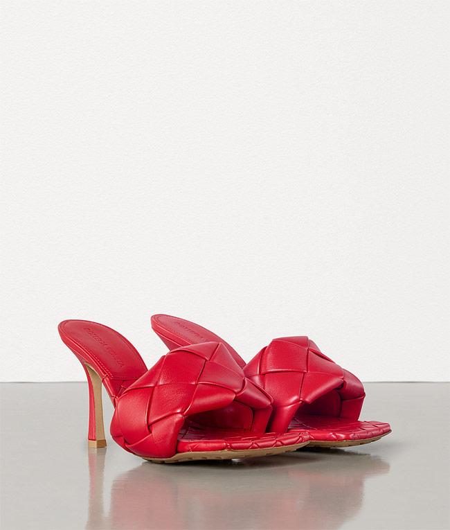 sandalias mujer bottega veneta