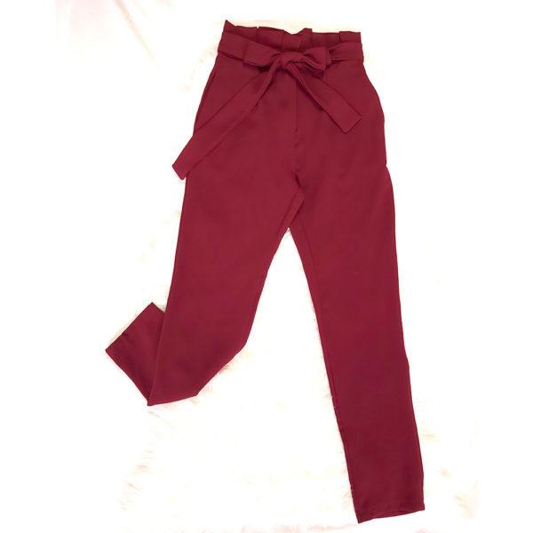 pantalon lazo cintura
