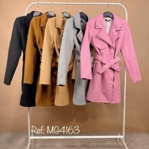 abrigo biker colores