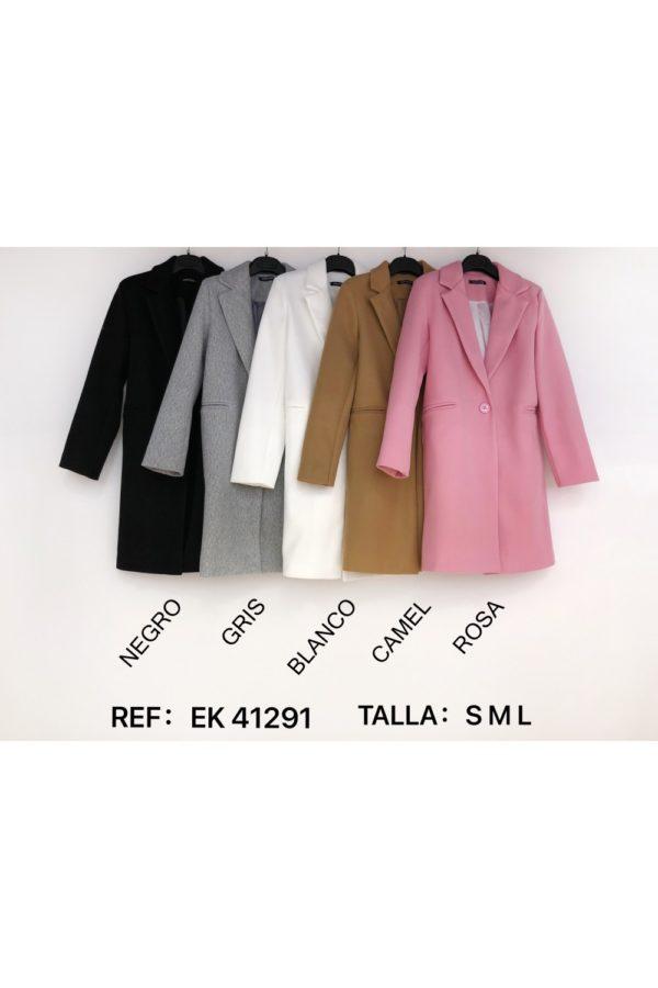 abrigo largo paño