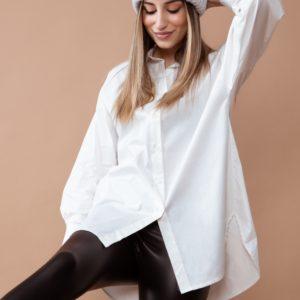 camisa oversize larga