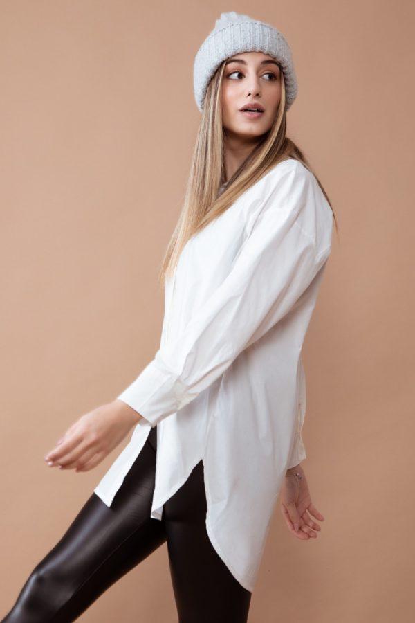 camisa oversize larga mujer